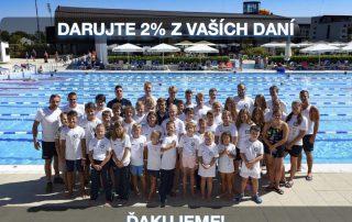 2% z vaších daní pre ROYAL swimming club